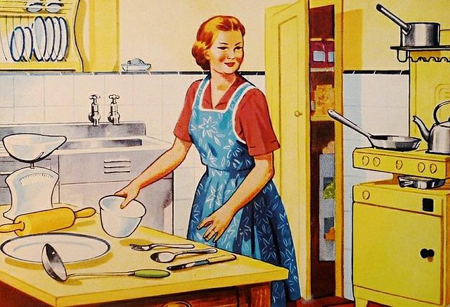 retro kuchyň