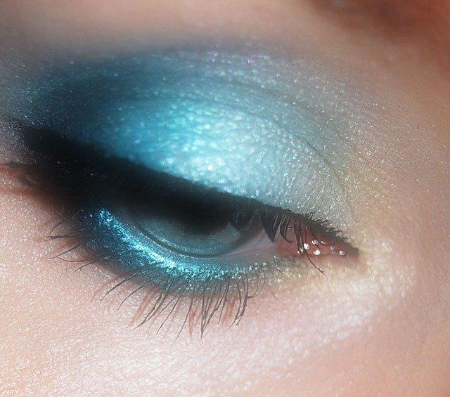 modré líčení