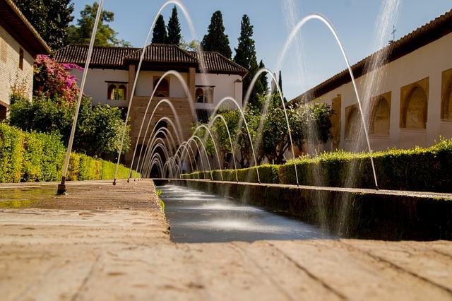 španělská fontána