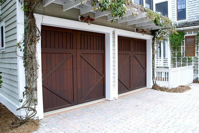natřená vrata