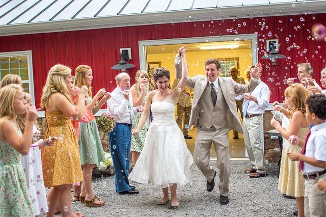veselá svatba