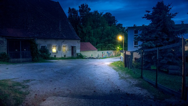 venkovská ulice