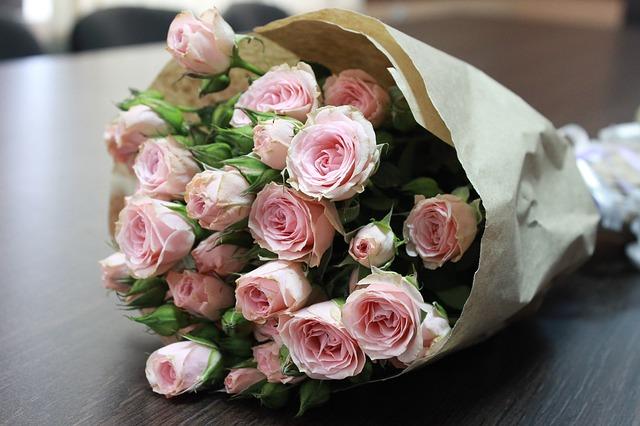 kytka růží