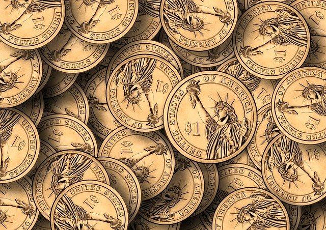 americké mince