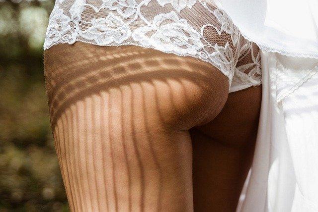 krajkové kalhotky