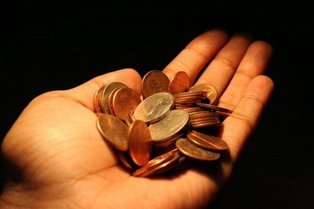 Hrst peněz